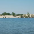 You can see the Sand Dunes Beach  from our waterfront.